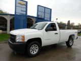 2013 Summit White Chevrolet Silverado 1500 Work Truck Regular Cab 4x4 #79949564