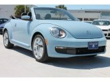 2013 Denim Blue Volkswagen Beetle 2.5L Convertible #79950412