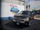 2011 Black Chevrolet Silverado 1500 LT Extended Cab #79949548