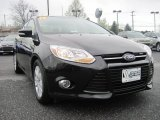 2012 Black Ford Focus SEL Sedan #79950173