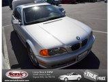 2001 Titanium Silver Metallic BMW 3 Series 330i Coupe #79949960