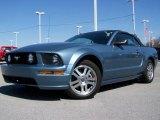 2005 Windveil Blue Metallic Ford Mustang GT Premium Convertible #7965713