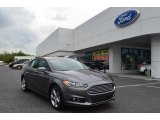 2013 Sterling Gray Metallic Ford Fusion SE 1.6 EcoBoost #79949737