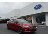2013 Ruby Red Metallic Ford Fusion SE 1.6 EcoBoost #79949736