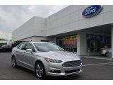 2013 Ingot Silver Metallic Ford Fusion Titanium AWD #79949735