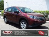 2013 Basque Red Pearl II Honda CR-V LX #79949330