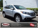 2013 Alabaster Silver Metallic Honda CR-V EX-L #79949329