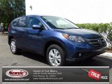 2013 Twilight Blue Metallic Honda CR-V EX AWD #79949326