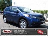 2013 Twilight Blue Metallic Honda CR-V EX #79949323