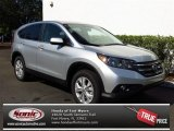 2013 Alabaster Silver Metallic Honda CR-V EX #79949322