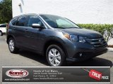 2013 Polished Metal Metallic Honda CR-V EX-L #79949321