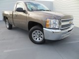 2012 Mocha Steel Metallic Chevrolet Silverado 1500 LS Regular Cab #79949877