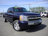 2009 Imperial Blue Metallic Chevrolet Silverado 1500 LT Extended Cab #79950128