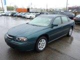 2001 Chevrolet Impala Dark Jade Green Metallic