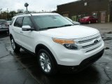 2013 White Platinum Tri-Coat Ford Explorer Limited 4WD #79949704