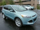 2013 Frosted Glass Metallic Ford Escape Titanium 2.0L EcoBoost 4WD #79949703