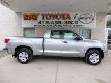 2013 Silver Sky Metallic Toyota Tundra Double Cab 4x4 #79949485