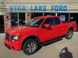 2011 Race Red Ford F150 FX4 SuperCab 4x4 #79950475