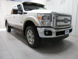 2012 Oxford White Ford F250 Super Duty King Ranch Crew Cab 4x4 #79950112