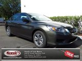2013 Hematite Metallic Honda Accord LX Sedan #79949281