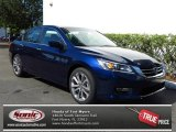 2013 Obsidian Blue Pearl Honda Accord Sport Sedan #79949280