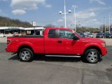2010 Vermillion Red Ford F150 STX SuperCab 4x4 #79949651