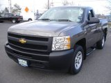 2012 Mocha Steel Metallic Chevrolet Silverado 1500 Work Truck Regular Cab #79949264