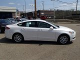 2013 White Platinum Metallic Tri-coat Ford Fusion SE #79949642