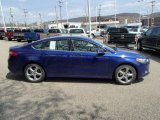 2013 Deep Impact Blue Metallic Ford Fusion SE 1.6 EcoBoost #79949641