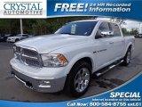 2012 Bright White Dodge Ram 1500 Laramie Crew Cab 4x4 #79950313