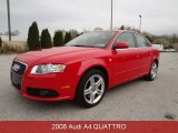 2008 Brilliant Red Audi A4 2.0T quattro Sedan #79949844