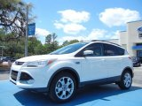 2013 White Platinum Metallic Tri-Coat Ford Escape SEL 1.6L EcoBoost #79949630