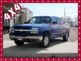 2004 Arrival Blue Metallic Chevrolet Silverado 1500 LS Extended Cab 4x4 #79949840