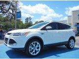 2013 White Platinum Metallic Tri-Coat Ford Escape Titanium 2.0L EcoBoost #79949624