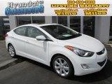2013 Shimmering White Hyundai Elantra Limited #79949223