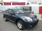 2013 Graphite Blue Nissan Rogue S AWD #79950275