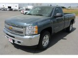 2013 Blue Granite Metallic Chevrolet Silverado 1500 LT Regular Cab #79950255