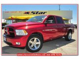 2012 Deep Cherry Red Crystal Pearl Dodge Ram 1500 Express Crew Cab #79950046