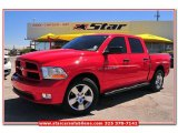 2012 Flame Red Dodge Ram 1500 Express Crew Cab #79950045