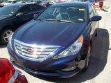 2013 Indigo Night Blue Hyundai Sonata SE #80042251