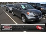 2011 Polished Metal Metallic Honda CR-V EX 4WD #80041552