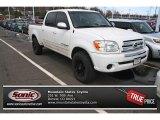 2005 Natural White Toyota Tundra SR5 Double Cab 4x4 #80041543