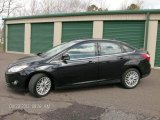 2012 Tuxedo Black Metallic Ford Focus SEL Sedan #80041642