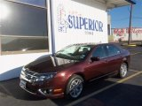 2012 Bordeaux Reserve Metallic Ford Fusion SEL V6 #80041641