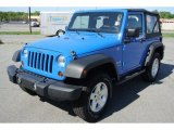 2008 Jeep Wrangler Surf Blue Pearl