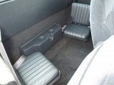 1998 Chevrolet S10 LS Extended Cab Rear Seat