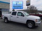 2013 Summit White Chevrolet Silverado 1500 LT Crew Cab 4x4 #80041597