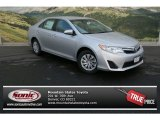 2013 Classic Silver Metallic Toyota Camry LE #80042216