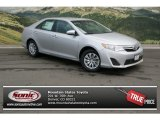 2013 Classic Silver Metallic Toyota Camry LE #80042215