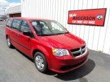2013 Redline 2 Coat Pearl Dodge Grand Caravan American Value Package #80041851